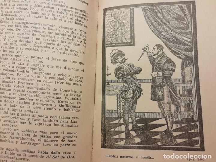 Libros antiguos: EL MUERTO RESUCITADO (LA REINE DARGOT) AÑO 1926 DE MICHEL ZÈVACO - Foto 5 - 227603815