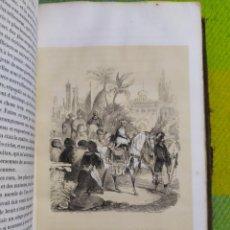 Libros antiguos: 1843. LAS MIL Y UNA NOCHES. GRABADOS DE MORLAINE.. Lote 227921616