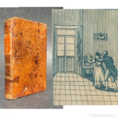 Libros antiguos: 1831 - LA QUIJOTITA - LIBRO IMPRESO EN MEXICO - GRABADOS EN TINTA AZUL - DON QUIJOTE. Lote 228391300