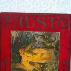 Libros antiguos: FAUSTO, CELEBRE POEMA DE GOETHE DE FRANCISCO ESTEVE (ARALUCE, 1933). Lote 228423910
