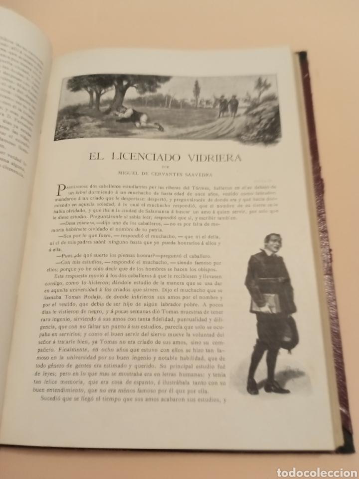 Libros antiguos: Novelas Cervantes Biblioteca Pluma y lápiz. - Foto 3 - 228773225