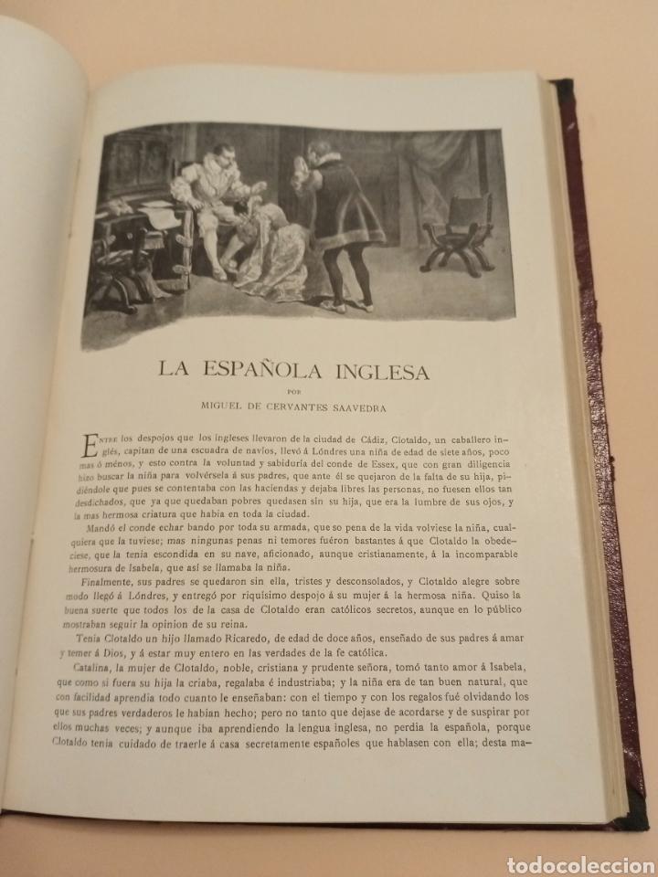 Libros antiguos: Novelas Cervantes Biblioteca Pluma y lápiz. - Foto 4 - 228773225