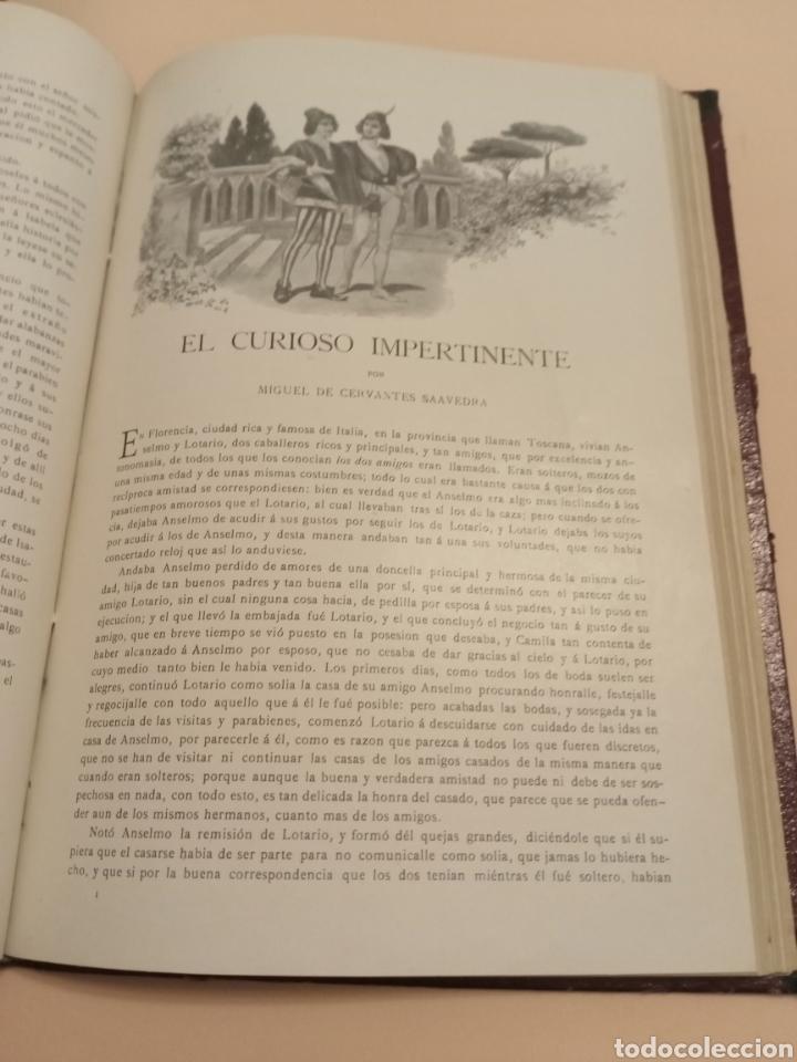 Libros antiguos: Novelas Cervantes Biblioteca Pluma y lápiz. - Foto 5 - 228773225