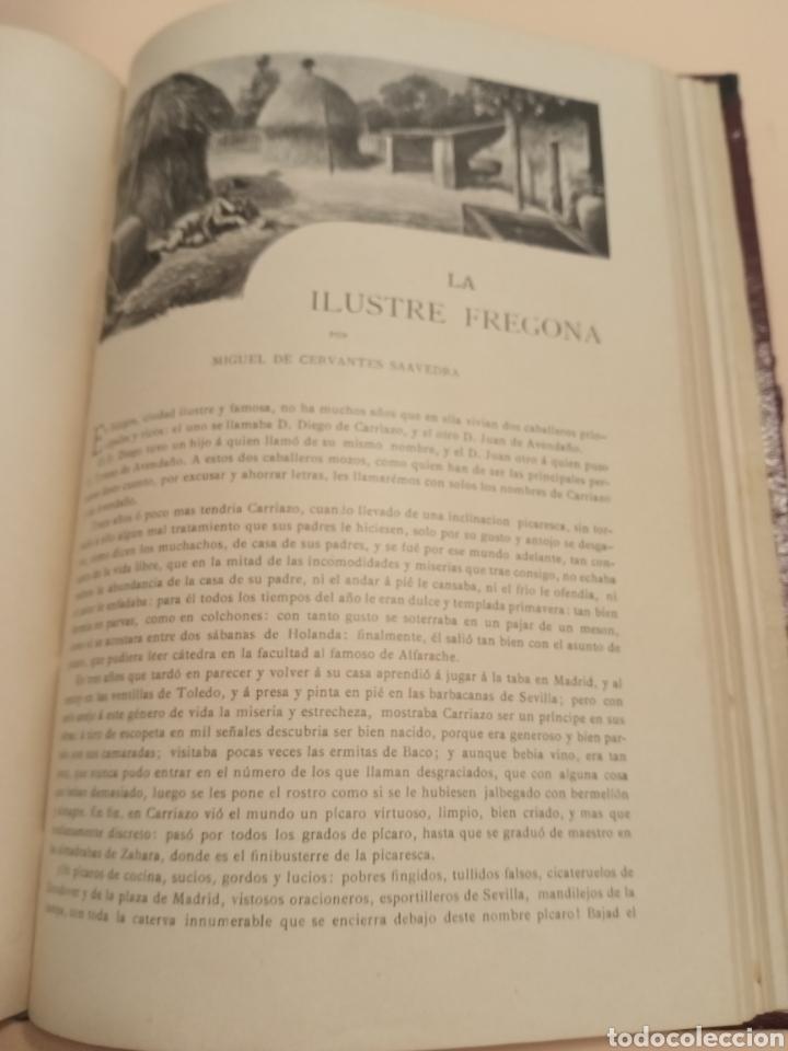 Libros antiguos: Novelas Cervantes Biblioteca Pluma y lápiz. - Foto 6 - 228773225