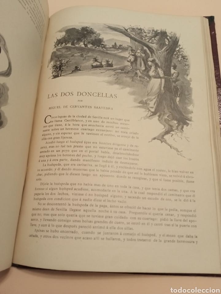 Libros antiguos: Novelas Cervantes Biblioteca Pluma y lápiz. - Foto 7 - 228773225