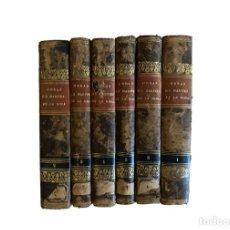 Libros antiguos: OBRA DE MARTINEZ DE LA ROSA, 1848, MUY BIEN CONSERVADOS.6 TOMOS. Lote 229074330