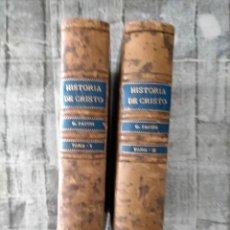 Libros antiguos: HISTORIA DE CRISTO, DE GIOVANNI PAPINI. 2 TOMOS. COL. SAULO, 1926. Lote 229365905