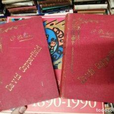 Libros antiguos: DAVID COPPERFIELD O EL SOBRINO DE MI TÍA. 2 TOMOS . CHARLES DICKENS. PALMA DE MALLORCA. 1896. Lote 229696030