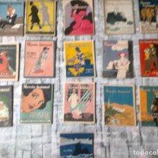 Libros antiguos: LA NOVELA SEMANAL LOTE DE 16 VER FOTOS Y TITULOS 1923-22. Lote 230020240