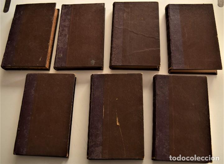 LOTE 7 LIBROS DE HONORE DE BALZAC DE LA COMEDIA HUMANA EDITADOS POR LUIS TASSO PRINCIPIOS SIGLO XX (Libros antiguos (hasta 1936), raros y curiosos - Literatura - Narrativa - Clásicos)
