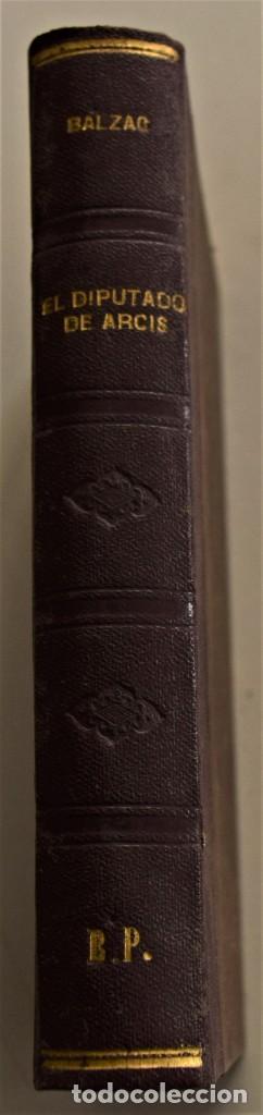 Libros antiguos: LOTE 7 LIBROS DE HONORE DE BALZAC DE LA COMEDIA HUMANA EDITADOS POR LUIS TASSO PRINCIPIOS SIGLO XX - Foto 6 - 230058240