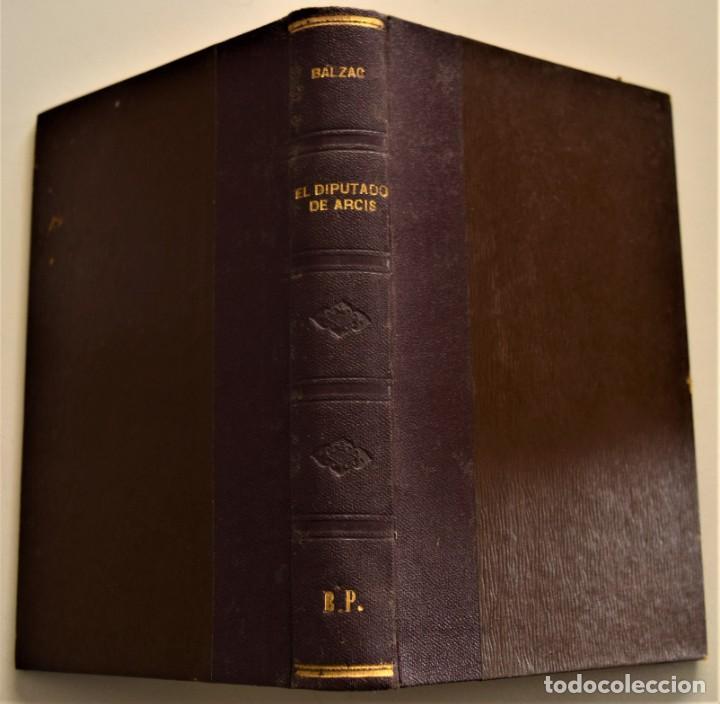 Libros antiguos: LOTE 7 LIBROS DE HONORE DE BALZAC DE LA COMEDIA HUMANA EDITADOS POR LUIS TASSO PRINCIPIOS SIGLO XX - Foto 7 - 230058240