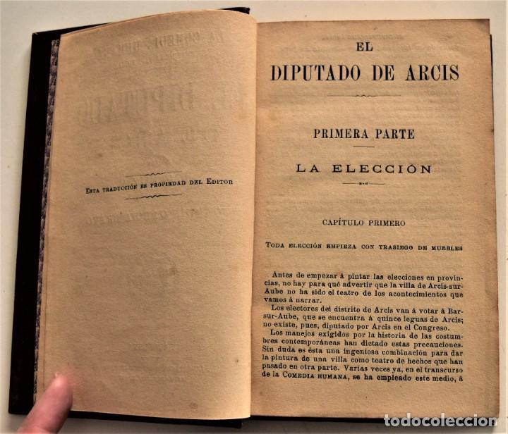 Libros antiguos: LOTE 7 LIBROS DE HONORE DE BALZAC DE LA COMEDIA HUMANA EDITADOS POR LUIS TASSO PRINCIPIOS SIGLO XX - Foto 9 - 230058240