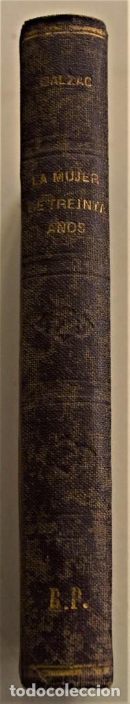 Libros antiguos: LOTE 7 LIBROS DE HONORE DE BALZAC DE LA COMEDIA HUMANA EDITADOS POR LUIS TASSO PRINCIPIOS SIGLO XX - Foto 12 - 230058240