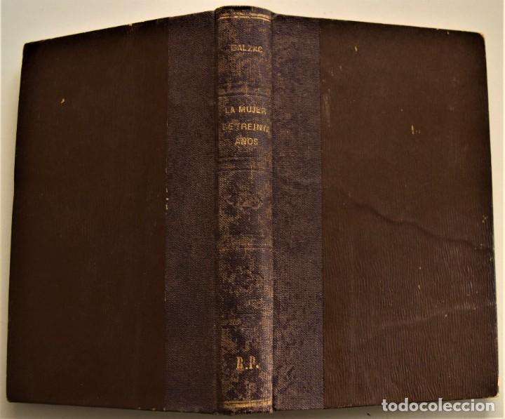 Libros antiguos: LOTE 7 LIBROS DE HONORE DE BALZAC DE LA COMEDIA HUMANA EDITADOS POR LUIS TASSO PRINCIPIOS SIGLO XX - Foto 13 - 230058240