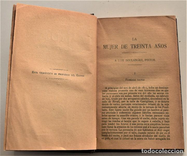 Libros antiguos: LOTE 7 LIBROS DE HONORE DE BALZAC DE LA COMEDIA HUMANA EDITADOS POR LUIS TASSO PRINCIPIOS SIGLO XX - Foto 15 - 230058240