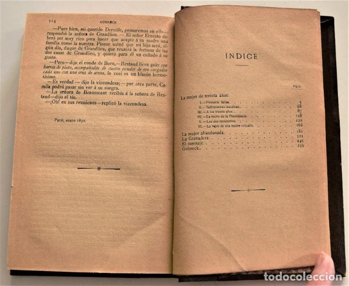 Libros antiguos: LOTE 7 LIBROS DE HONORE DE BALZAC DE LA COMEDIA HUMANA EDITADOS POR LUIS TASSO PRINCIPIOS SIGLO XX - Foto 16 - 230058240