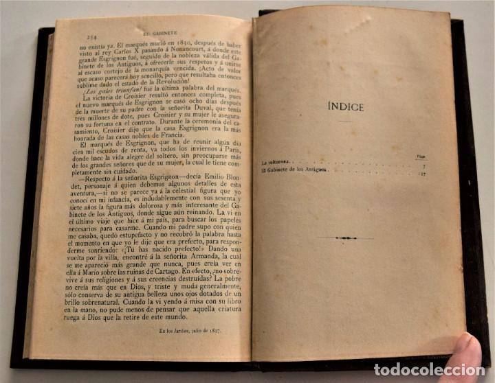 Libros antiguos: LOTE 7 LIBROS DE HONORE DE BALZAC DE LA COMEDIA HUMANA EDITADOS POR LUIS TASSO PRINCIPIOS SIGLO XX - Foto 20 - 230058240