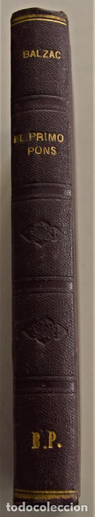 Libros antiguos: LOTE 7 LIBROS DE HONORE DE BALZAC DE LA COMEDIA HUMANA EDITADOS POR LUIS TASSO PRINCIPIOS SIGLO XX - Foto 24 - 230058240