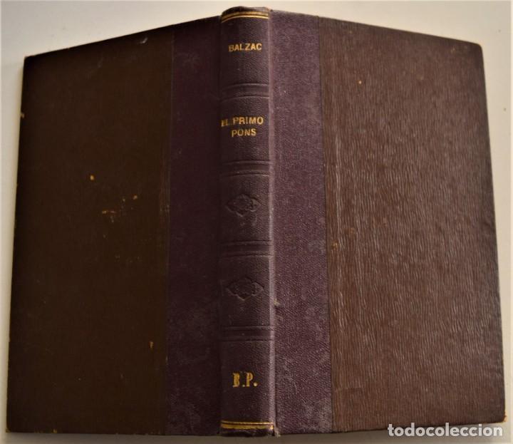 Libros antiguos: LOTE 7 LIBROS DE HONORE DE BALZAC DE LA COMEDIA HUMANA EDITADOS POR LUIS TASSO PRINCIPIOS SIGLO XX - Foto 25 - 230058240