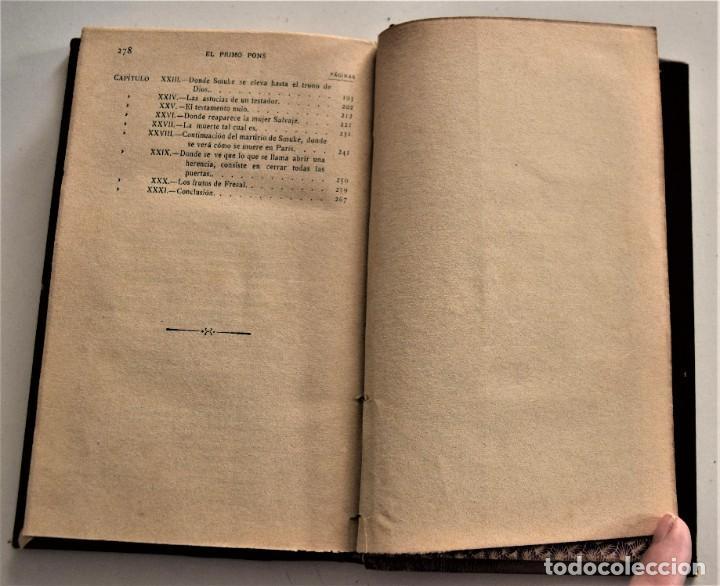 Libros antiguos: LOTE 7 LIBROS DE HONORE DE BALZAC DE LA COMEDIA HUMANA EDITADOS POR LUIS TASSO PRINCIPIOS SIGLO XX - Foto 28 - 230058240