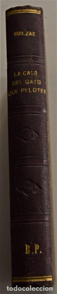 Libros antiguos: LOTE 7 LIBROS DE HONORE DE BALZAC DE LA COMEDIA HUMANA EDITADOS POR LUIS TASSO PRINCIPIOS SIGLO XX - Foto 29 - 230058240