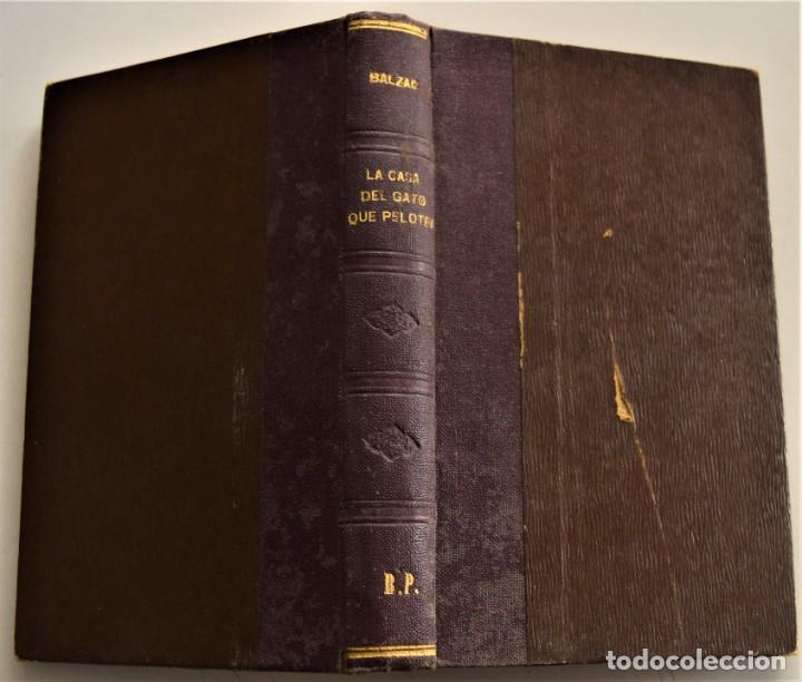 Libros antiguos: LOTE 7 LIBROS DE HONORE DE BALZAC DE LA COMEDIA HUMANA EDITADOS POR LUIS TASSO PRINCIPIOS SIGLO XX - Foto 30 - 230058240