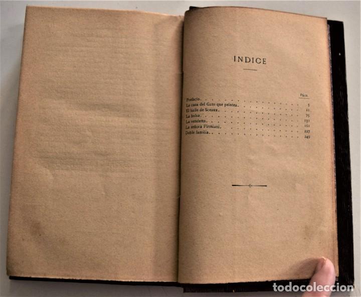Libros antiguos: LOTE 7 LIBROS DE HONORE DE BALZAC DE LA COMEDIA HUMANA EDITADOS POR LUIS TASSO PRINCIPIOS SIGLO XX - Foto 32 - 230058240
