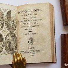 Libros antiguos: DON QUICHOTTE DE LA MANCHE . PARÍS 1810. Lote 230358625