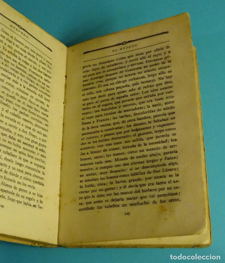 Libros antiguos: LA NOVELA PICARESCA. SELECCIÓN F. RUIZ MORCUENDE. DIBUJOS F. MARCO. COMISARIADO III CUERPO EJERCITO - Foto 3 - 232049845