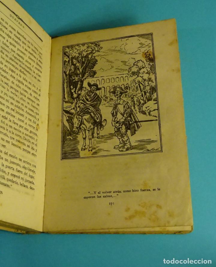 Libros antiguos: LA NOVELA PICARESCA. SELECCIÓN F. RUIZ MORCUENDE. DIBUJOS F. MARCO. COMISARIADO III CUERPO EJERCITO - Foto 4 - 232049845