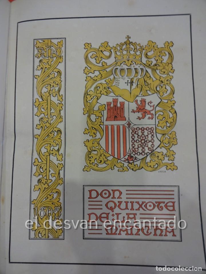 DON QUIXOTE DE LA MANCHA. TOMO II. OCTAVIO VIADER. SAN FELIU DE GUIXOLS. AÑO 1905 (Libros antiguos (hasta 1936), raros y curiosos - Literatura - Narrativa - Clásicos)