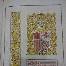 Libros antiguos: DON QUIXOTE DE LA MANCHA. TOMO II. OCTAVIO VIADER. SAN FELIU DE GUIXOLS. AÑO 1905. Lote 232193070