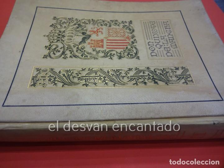 Libros antiguos: DON QUIXOTE DE LA MANCHA. Tomo II. Octavio Viader. San Feliu de Guixols. Año 1905 - Foto 2 - 232193070