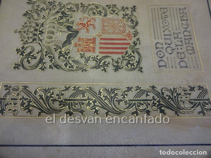 Libros antiguos: DON QUIXOTE DE LA MANCHA. Tomo II. Octavio Viader. San Feliu de Guixols. Año 1905 - Foto 3 - 232193070