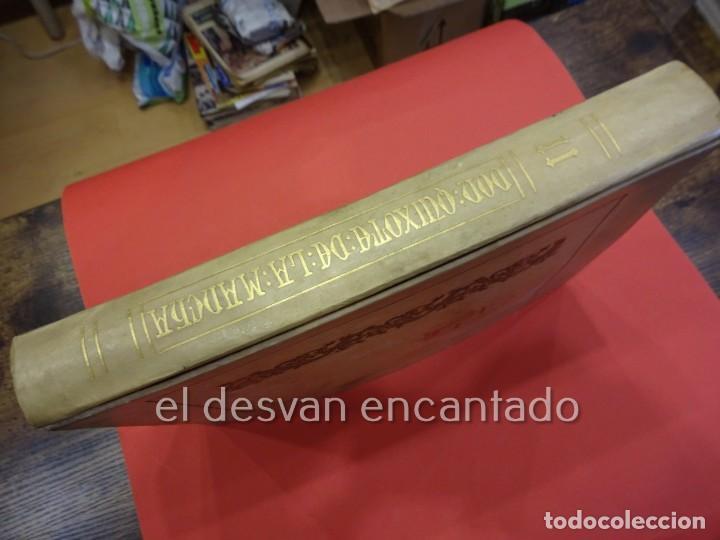Libros antiguos: DON QUIXOTE DE LA MANCHA. Tomo II. Octavio Viader. San Feliu de Guixols. Año 1905 - Foto 4 - 232193070
