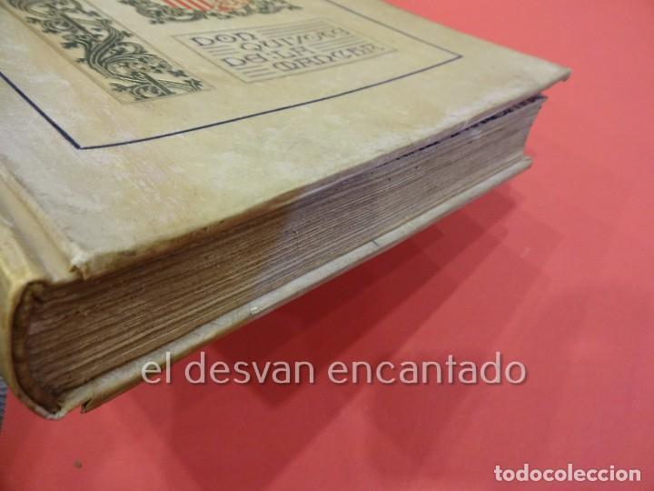 Libros antiguos: DON QUIXOTE DE LA MANCHA. Tomo II. Octavio Viader. San Feliu de Guixols. Año 1905 - Foto 8 - 232193070
