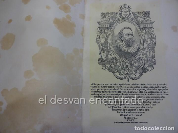 Libros antiguos: DON QUIXOTE DE LA MANCHA. Tomo II. Octavio Viader. San Feliu de Guixols. Año 1905 - Foto 11 - 232193070