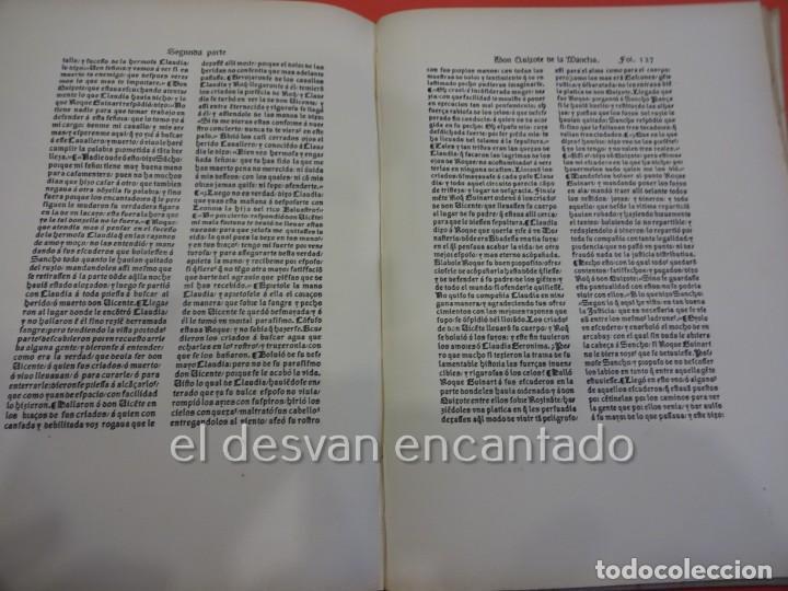 Libros antiguos: DON QUIXOTE DE LA MANCHA. Tomo II. Octavio Viader. San Feliu de Guixols. Año 1905 - Foto 12 - 232193070