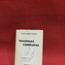Livres anciens: LIBRERIA GHOTICA. SÉNECA. TRAGEDIAS COMPLETAS. CRISOL 18. EDITORIAL AGUILAR 1957. Lote 233593050