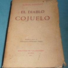 Libros antiguos: EL DIABLO COJUELO. Lote 233931910