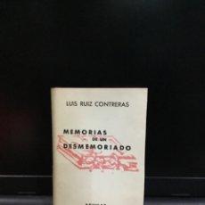 Livres anciens: MEMORIAS DE UN DESMEMORIADO LUIS RUIZ CONTRERAS CRISOL 142 1946 AGUILAR C3. Lote 261618840