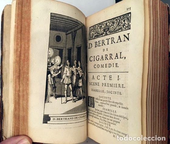 CORNEILLE : POEMES DRAMATIQUES (T I, 1722) 6 OBRAS: D. BERTRAND DE CIGARRAL. FRONTISPICIO, GRABADOS (Libros antiguos (hasta 1936), raros y curiosos - Literatura - Narrativa - Clásicos)