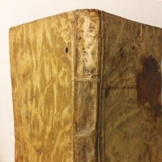 Libros antiguos: VIDA Y MILAGROS DEL TAUMATURGO ESPAÑOL SAN ANTONIO DE PADUA. (CIRCA 1735) PERGAMINO. Lote 235539195
