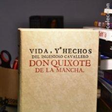 Libros antiguos: VIDA, Y HECHOS DEL INGENIOSOS CAVALLERO DON QUIXOTE DE LA MANCHA- MIGUEL DE CERVANTES (ED.NAUTA). Lote 235560635