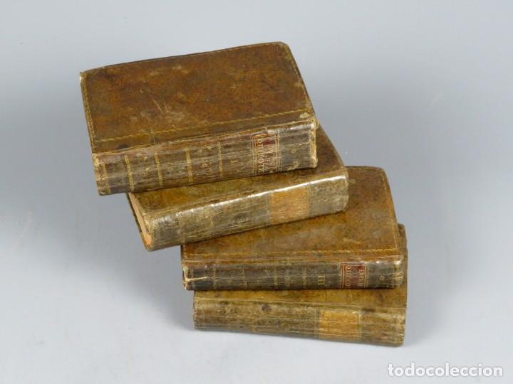 EL INGENIOSO HIDALGO DON QUIXOTE DE LA MANCHA-M. DE CERVANTES SAAVEDRA-4TOMOS-MADRID 1782 (Libros antiguos (hasta 1936), raros y curiosos - Literatura - Narrativa - Clásicos)