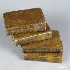 Libros antiguos: EL INGENIOSO HIDALGO DON QUIXOTE DE LA MANCHA-M. DE CERVANTES SAAVEDRA-4TOMOS-MADRID 1782. Lote 236511435