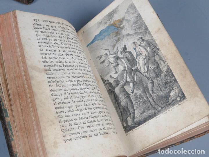 Libros antiguos: EL INGENIOSO HIDALGO DON QUIXOTE DE LA MANCHA-M. DE CERVANTES SAAVEDRA-4TOMOS-MADRID 1782 - Foto 15 - 236511435