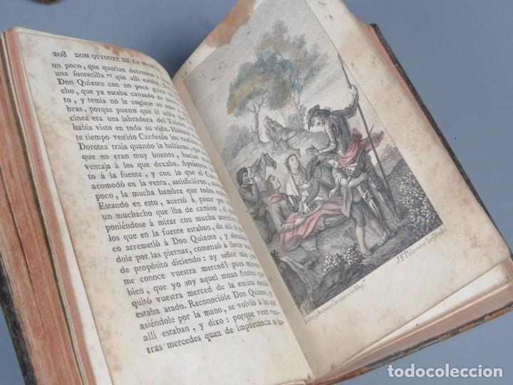Libros antiguos: EL INGENIOSO HIDALGO DON QUIXOTE DE LA MANCHA-M. DE CERVANTES SAAVEDRA-4TOMOS-MADRID 1782 - Foto 16 - 236511435