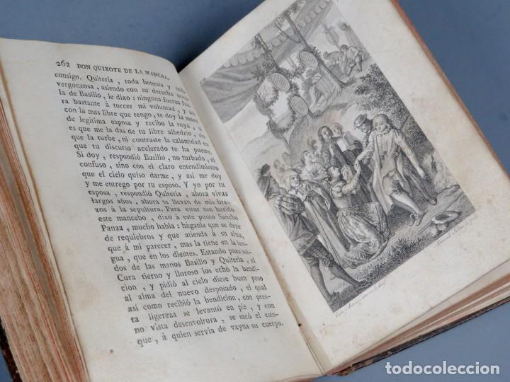 Libros antiguos: EL INGENIOSO HIDALGO DON QUIXOTE DE LA MANCHA-M. DE CERVANTES SAAVEDRA-4TOMOS-MADRID 1782 - Foto 21 - 236511435